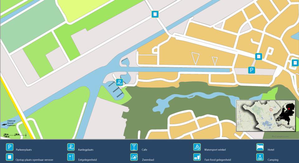 plattegrond haven steenwijk